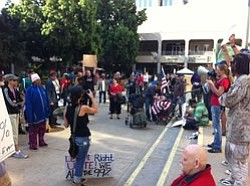 Tease photo for Occupy San Diego Moves Online, Continues Mission