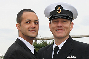 Same-Sex Spouses Begin Using Military Benefits (Video)