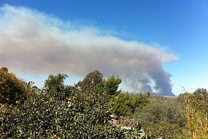 Camp Pendleton Brush Fire To Be Fully Contained