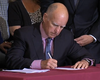 Gov. Brown Signs Veteran Housing Bill In San Diego