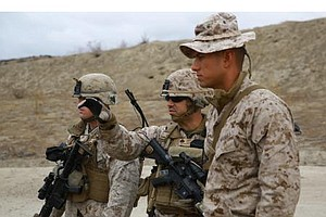 Tease photo for Camp Pendleton Marines Prep For Upcoming Middle East Embassy Deployment (Video)