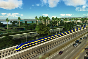 Work Begins On California Bullet Train, Locals Angry