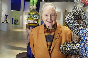 Mingei International Museum Founder Martha Longenecker Ha...