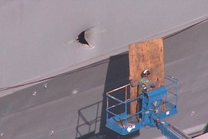 Tease photo for Drone Hits San Diego-Based Navy Ship, Two Sailors Injured (Video)
