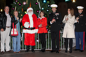Camp Pendleton To Hold Tree Lighting Celebration On Saturday