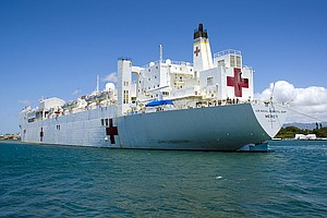 Tease photo for San Diego-Based Hospital Ship USNS Mercy Won't Deploy To Philippines