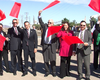 U.S., Mexico Officials Break Ground On San Diego Border Infrastruct...