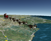 NORAD Tracking Santa Claus On His Christmas Eve Journey (...