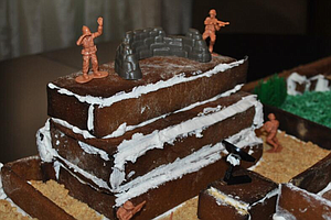 Tease photo for Check Out This Gingerbread Recreation Of Bin Laden's Compound