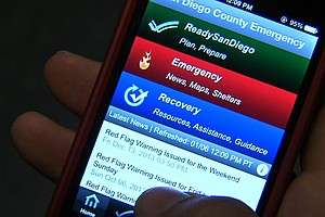 Tease photo for San Diego County Emergency Services Unveil Improved Mobile App