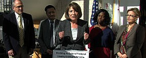 Tease photo for Rep. Susan Davis In San Diego To Discuss Unemployment Benefits