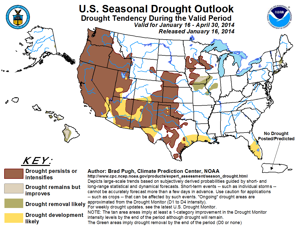 Drought Duration By US County   Ecoclimax US Drought - Us weather drought map