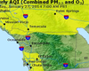 Drought Impacts Air Quality Across California