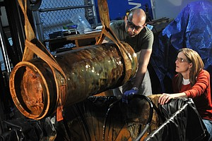 Tease photo for Archeologists Study Howell Torpedo Found By Dolphins Off San Diego Coast (Video)