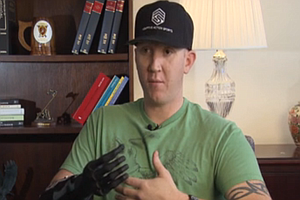 Camp Pendleton Marine First Ever To Receive Revolutionary Prosthetic Arm (Video)