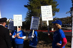 Tease photo for Alpine Teachers Strike After Union-District Negotiations Fail
