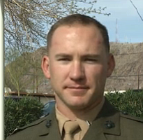 Tease photo for Marine From Fallbrook Awarded Silver Star (Video)