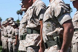 Good News For Marine Corps Spouses: Rolled Sleeves Are Back