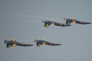 Blue Angels Soar Over Skies Of El Centro (Video)