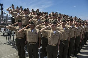 Tease photo for Camp Pendleton Marines Deploying Tuesday To Australia (Video)