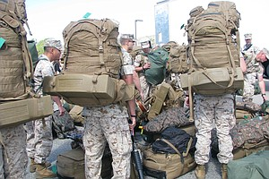 Tease photo for Camp Pendleton Marines Head For First Major Deployment To Australia
