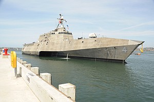 Tease photo for USS Coronado Commissioning Ceremony Set For Saturday (Video)