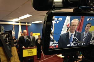 Faulconer Focuses On Infrastructure, Public Safety In 1st...