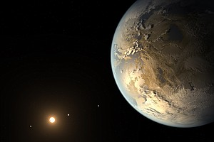 Tease photo for Earth-Like Planet Discovered