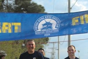 U.S. Troops Run Boston Marathon 'Shadow Run' In Afghanist...