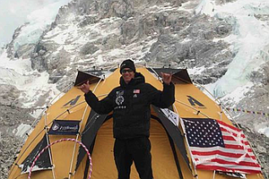 Tease photo for Camp Pendleton Marine Veteran Safe On Everest After Avalanche (Video)