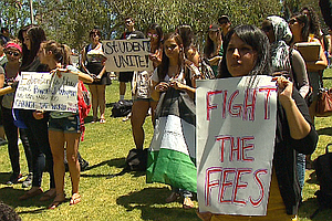 Tease photo for Students March To Protest SDSU Fee Hike