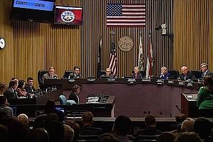 Tease photo for Supervisor Horn Seeks Sixth Term; Oceanside Mayor Hopes For An Upset