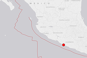 Tease photo for Magnitude 6.4 Earthquake Shakes Mexican Capital