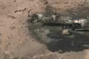 U.S. Marine Harrier Jet Crashes In Arizona, Pilot Safe (V...