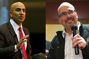 Tease photo for Kashkari Versus Donnelly — Who Will Face Brown In The Race For Governor?