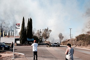 Tease photo for Lakeside, Scripps Ranch Fires Quickly Knocked Down