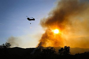 Crews Make Progress On 3 Camp Pendleton Fires; Evacuation...
