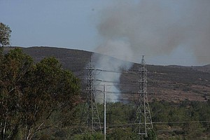 Tease photo for Crews Gain Quick Control Of Brush Fire In Santee