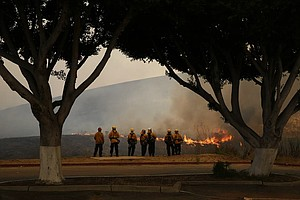 Tease photo for Cal Fire: Get Ready San Diegans For A 'Prolonged Fire Season'