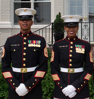 uniform marine