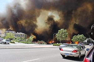 Tease photo for At Least 65 Homes Destroyed In San Diego County Wildfires