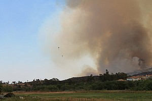Tease photo for As Cocos Fire Nears Full Containment, Some Crews Being Sent Home