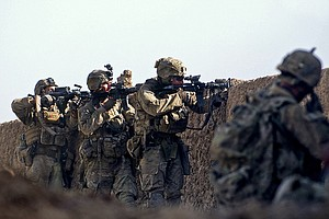 9,800 US Troops To Remain In Afghanistan After War's 'Off...