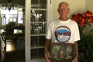 Tease photo for San Diego D-Day Paratrooper Remembers Historic Jump 70 Years Ago