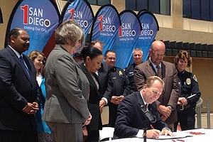 Faulconer Signs $3B Budget On 100th Day As San Diego Mayor