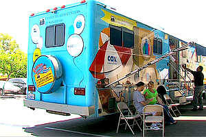 Tease photo for Mobile Medical Units Deliver To San Diego's Underserved