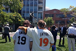 Tease photo for Tony Gwynn, 'Mr. Padre,' Dies At 54