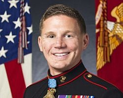 Recent Medal Of Honor Recipient Honored Monday At MCAS Mi...