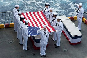 Tease photo for USS Peleliu Honors Deceased Veterans With Burials At Sea