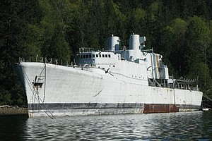 HMCS Annapolis One Step Closer To Being Sunk Off Mission Bay